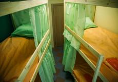 Nice Hostel on Peterburgskaya   Казань   Парковка Кровать в общем четырехместном номере для мужчин и женщин