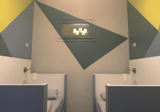 Гостевой Дом Yum Yum | м. Белорусская | Wi-Fi Бюджетный двухместный номер с 1 кроватью или 2 отдельными кроватями