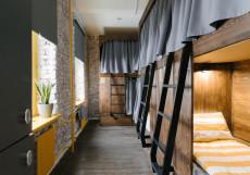 Baraban Hostel  - Барабан Хостел Кровать в общем 6-местном номере для женщин