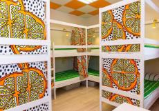 Артист на Семеновской | м. Семеновская | Wi-Fi Спальное место на двухъярусной кровати в 10-местном общем номере для мужчин и женщин