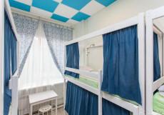 Артист на Семеновской | м. Семеновская | Wi-Fi  Спальное место на двухъярусной кровати в общем номере для мужчин и женщин