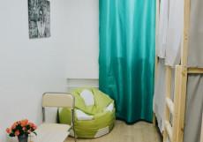 Nice Hostel Курская | м. Чкаловская | Wi-Fi  Кровать в общем четырехместном номере для женщин