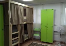 Nice Hostel Курская | м. Чкаловская | Wi-Fi Кровать в общем 8-местном номере для мужчин и женщин