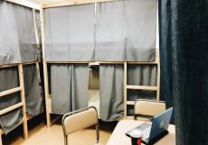 Nice Hostel Курская | м. Чкаловская | Wi-Fi  Спальное место на двухъярусной кровати в общем номере с 6 кроватями