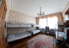 МН Земляной Вал | м. Курская | Wi-Fi Спальное место на двухъярусной кровати в общем номере для мужчин и женщин
