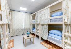 Хостелы Рус-Казанский Вокзал Спальное место на двухъярусной кровати в общем номере для мужчин