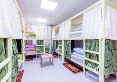 Хостелы Рус-Казанский Вокзал Спальное место на двухъярусной кровати в 12-местном общем номере для мужчин и женщин