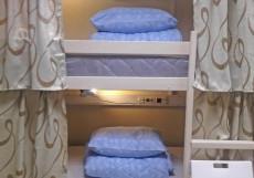 Рус-Казанский Вокзал | м. Комсомольская | Парковка Спальное место на двухъярусной кровати в общем 8-местном номере для мужчин и женщин