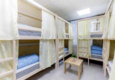 Хостелы Рус-Казанский Вокзал Спальное место на двухъярусной кровати в 8-местном общем номере для женщин