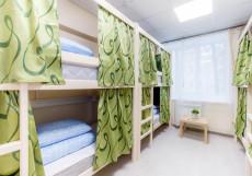 Хостелы Рус-Казанский Вокзал Спальное место на двухъярусной кровати в общем 6-местном номере для мужчин и женщин