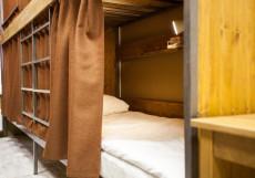 ALL MUSIC Hostel #1 Mayakovskaya Кровать в общем 4-местном номере для мужчин и женщин