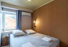 Drop Inn - отель капсула на Комсомольском вокзале Двухместный номер с 1 кроватью или 2 отдельными кроватями и собственной ванной комнатой