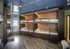Рус Братиславская | м. Братиславская | Парковка Кровать в общем 8-местном номере для мужчин и женщин