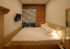 Винегрет | м. Арбатская | Wi-Fi Двухместный номер с 1 кроватью и общей ванной комнатой