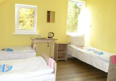 Отель на Боровской | Рассказово | м. Рассказовка | Wi-Fi Четырехместный номер эконом-класса с общей ванной комнатой