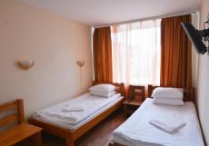 Карелия | Кондопога | Парковка Бюджетный двухместный номер с 1 кроватью или 2 отдельными кроватями