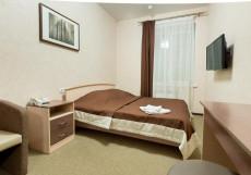 Шале на Комсомольском Двухместный номер эконом-класса с 1 кроватью или 2 отдельными кроватями и общей ванной комнатой