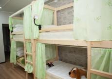 Хостел Рус-Якутск |Якутск| Парковка Кровать в общем 8-местном номере для мужчин и женщин