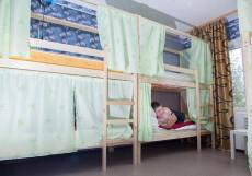 Хостел Рус-Якутск |Якутск| Парковка Кровать в общем 6-местном номере для мужчин и женщин