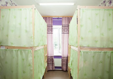 Хостел Рус-Якутск |Якутск| Парковка Кровать в общем 4-местном номере для мужчин и женщин