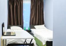 Quantroom   Гатчина  Большой двухместный номер с 2 отдельными кроватями