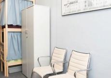Хостел Рус - ВДНХ | Станция метро Ботанический сад | Парковка Кровать в общем 6-местном номере для женщин