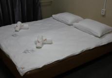 ЗАКРЫТ АСТ | м. Комсомольская | Wi-FI Стандартный двухместный номер с 1 кроватью или 2 отдельными кроватями и общей ванной комнатой