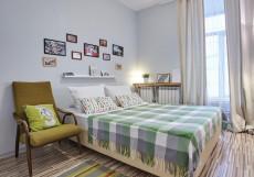Дом | м. Чкаловская | Wi-Fi Двухместный номер с 1 кроватью или 2 отдельными кроватями и общей ванной комнатой