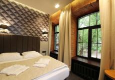 Минима Бауманская | Бутик - отель Семейный номер с кроватью размера
