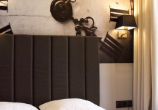 Минима Бауманская | Бутик - отель Улучшенный номер с кроватью размера