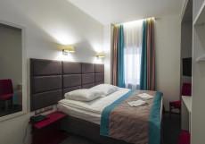 Веллион Павелецкая Стандартный двухместный номер с кроватью размера