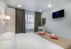 Бизнес Восход   м. Владыкино   Wi-Fi Стандартный двухместный номер с 1 кроватью или 2 отдельными кроватями