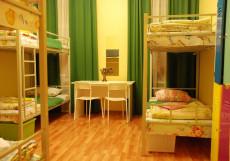GooDHoliday   м. Садовая   Wi-FI Спальное место на двухъярусной кровати в общем номере для женщин