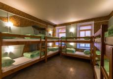 Time at the Red Gate | м. Красные ворота | Wi-Fi  Нижнее спальное место на двухъярусной кровати в общем номере для мужчин