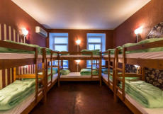 Time at the Red Gate | м. Красные ворота | Wi-Fi Нижнее спальное место на двухъярусной кровати в общем номере для мужчин и женщин
