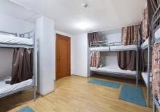 Travel на Маяковской | м. Баррикадная, м. Маяковская | Парковка Спальное место на двухъярусной кровати в общем номере для мужчин и женщин