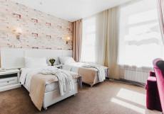 Чайковский | м. Арбатская | Wi-Fi Улучшенный двухместный номер с 1 кроватью или 2 отдельными кроватями, вид на город