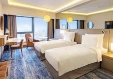 Рэдиссон Блу Олимпийский Двухместный номер Премиум с 2 отдельными кроватями и видом на город