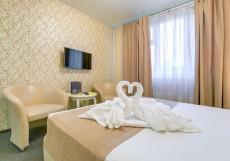 Рандеву Пражская (м. Пражская, Южная) Большой двухместный номер с 1 кроватью или 2 отдельными кроватями