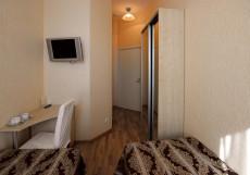 Большой 45 | Санкт-Петербург | м. Петроградская | Парковка Стандартный двухместный номер с 2 отдельными кроватями