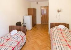 Пулково Односпальная кровать в общем номере