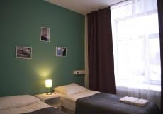 Седьмое Небо | 7 Небо | м. Московская Улучшенный двухместный номер с 2 отдельными кроватями