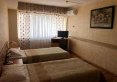 Мосуз Центр - Московско-узбекский гостинично-коммерческий центр Стандартный двухместный номер с 2 отдельными кроватями
