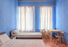 Ариадна | СПб | м. Петроградская | Wi-Fi Стандартный двухместный номер с 2 отдельными кроватями и общей ванной комнатой