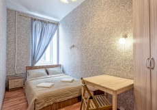 Ариадна | СПб | м. Петроградская | Wi-Fi Стандартный двухместный номер с 1 кроватью и общей ванной комнатой