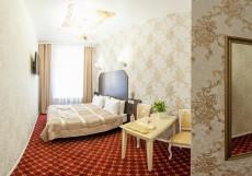 Апартаменты Гранд на Татарском (м. Спортивная | Парковка) Двухместный номер Делюкс с 1 кроватью или 2 отдельными кроватями, вид на город