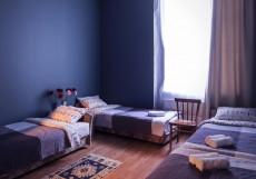 Петрополис (м. Горьковская) Двухместный номер с 2 отдельными кроватями и общей ванной комнатой