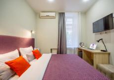 Питер | м. Спортивная | WI-FI Небольшой уютный двухместный номер с 1 кроватью или 2 отдельными кроватями