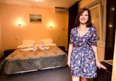 Отель Роза -Хутор | Нижний Новгород Двухместный номер с 1 кроватью или 2 отдельными кроватями и дополнительной кроватью