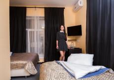 Отель Роза -Хутор | Нижний Новгород Стандартный трехместный номер